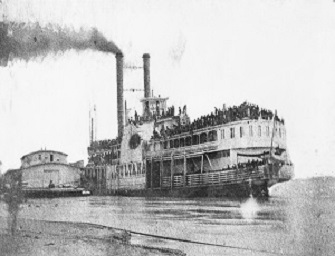 The steamboat Sultana